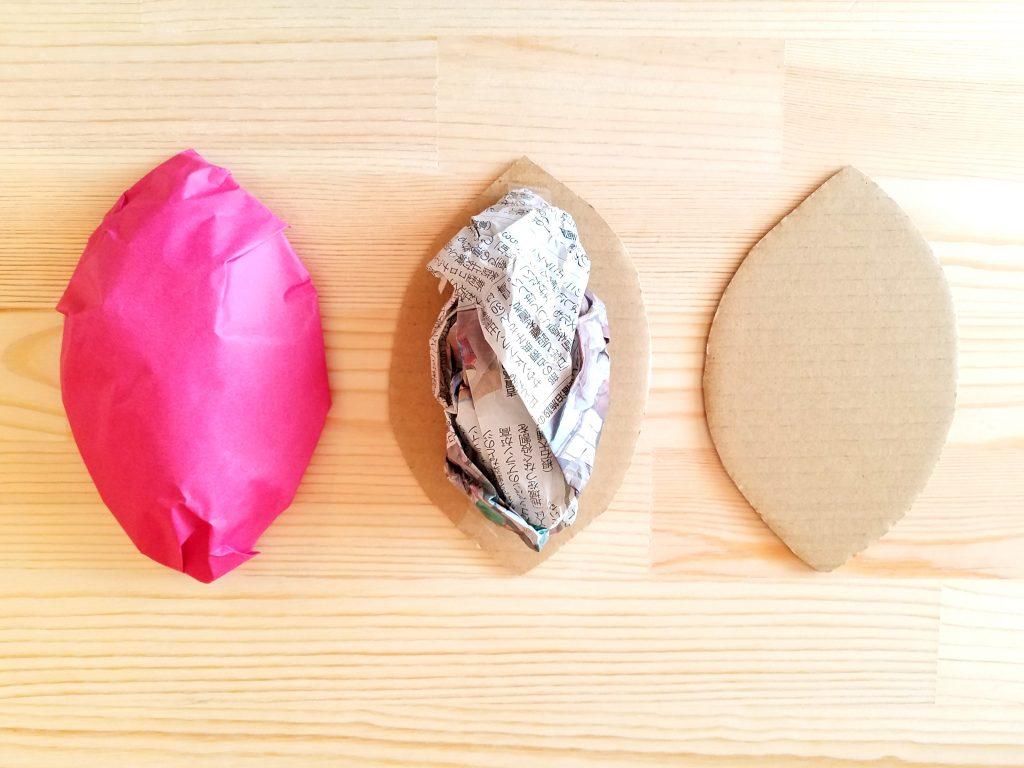保育園 10月制作 芋ほり