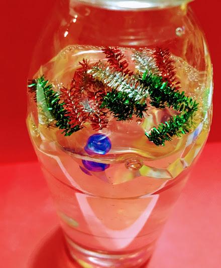 12月 保育園 製作 クリスマス(トナカイ・リース・スノードーム)