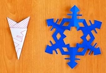 切り紙結晶