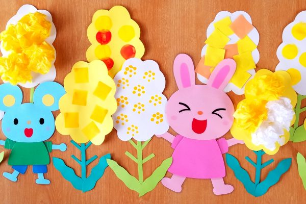 保育園3月製作 菜の花アイデア5種!春色保育室にしよう イメージ
