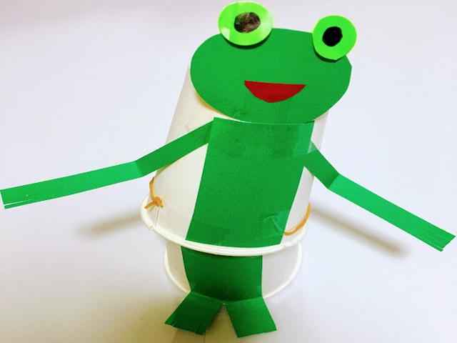 カエルの製作