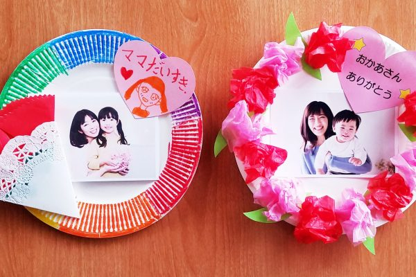 5月製作「母の日」プレゼントアイデア|年少から作れる簡単折り紙カーネーション折り方 イメージ