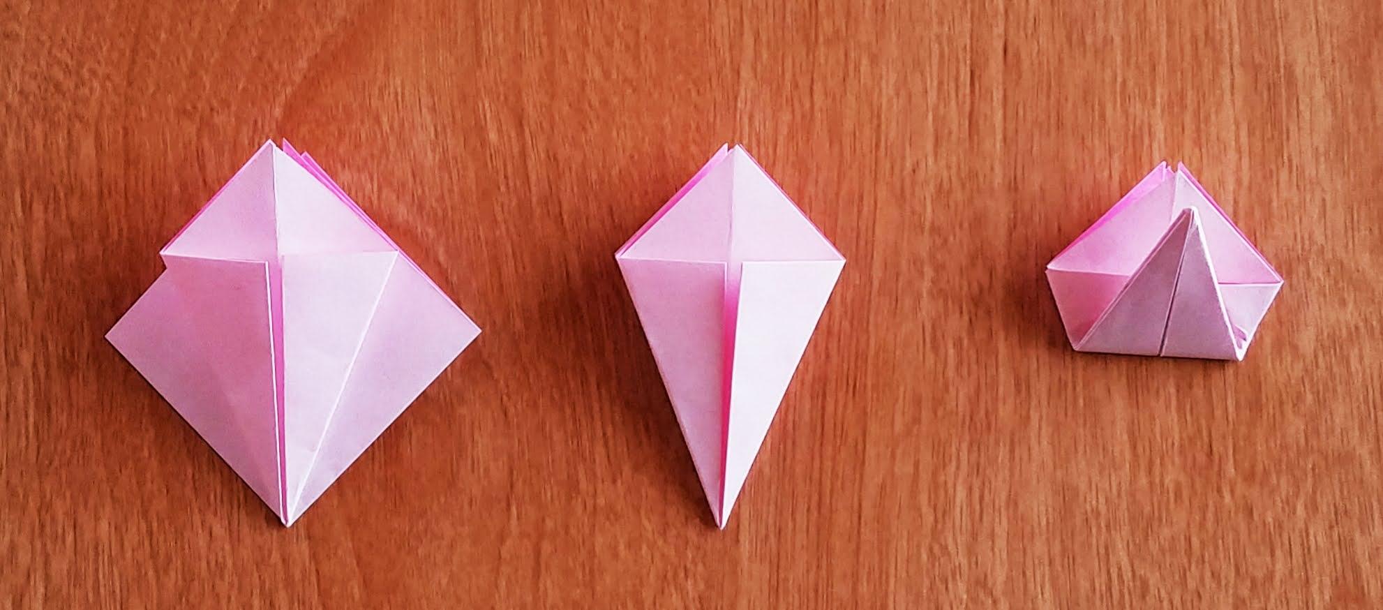 折り紙_あじさい