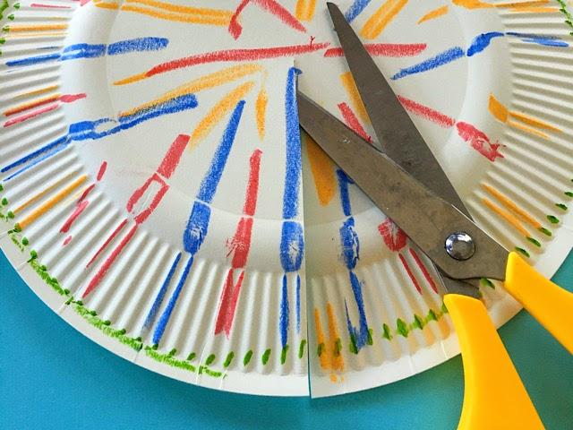 6月‗紙皿‗製作