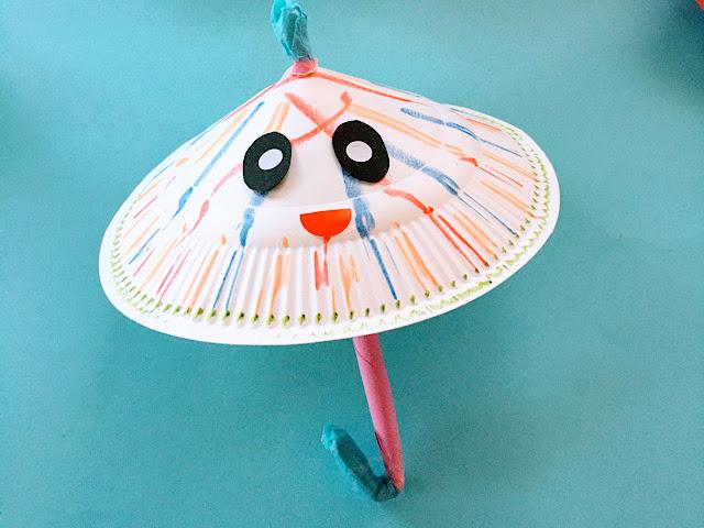 2歳児‗3歳児‗6月‗傘製作