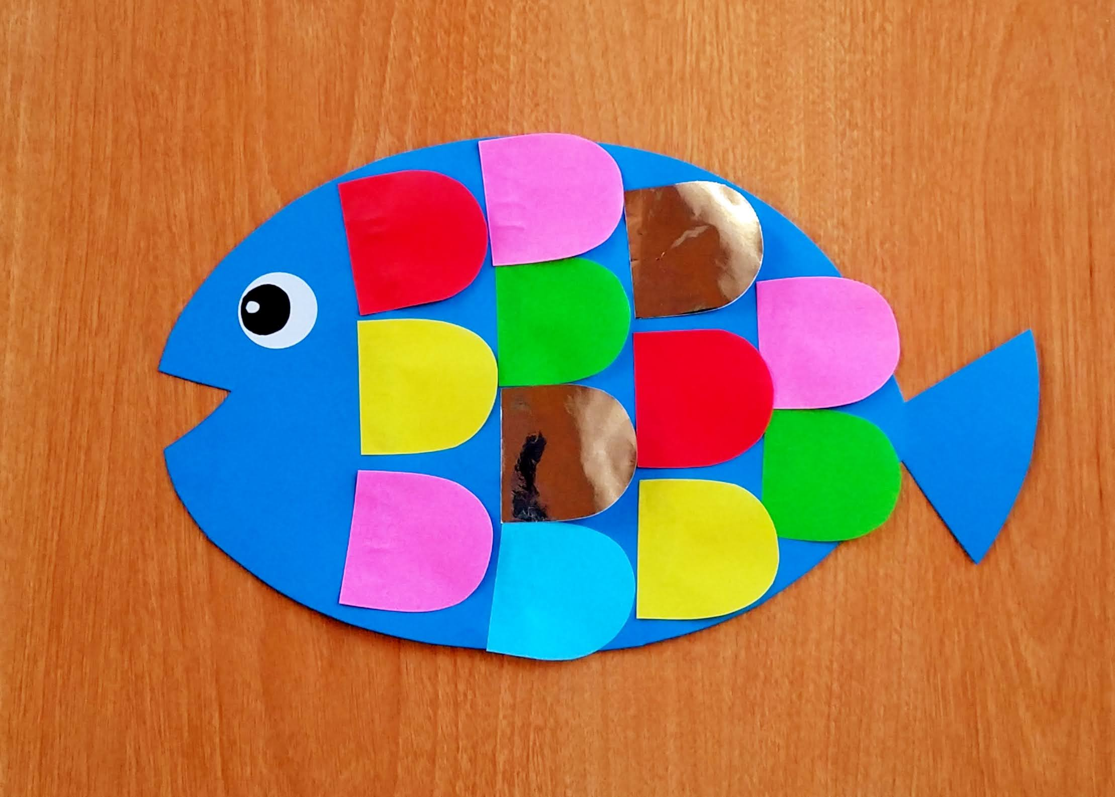保育製作‗5歳児‗魚