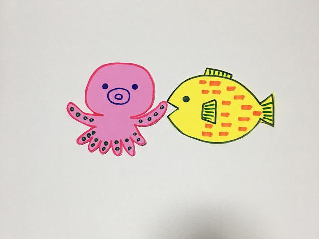 7月製作‗海の生き物‗魚