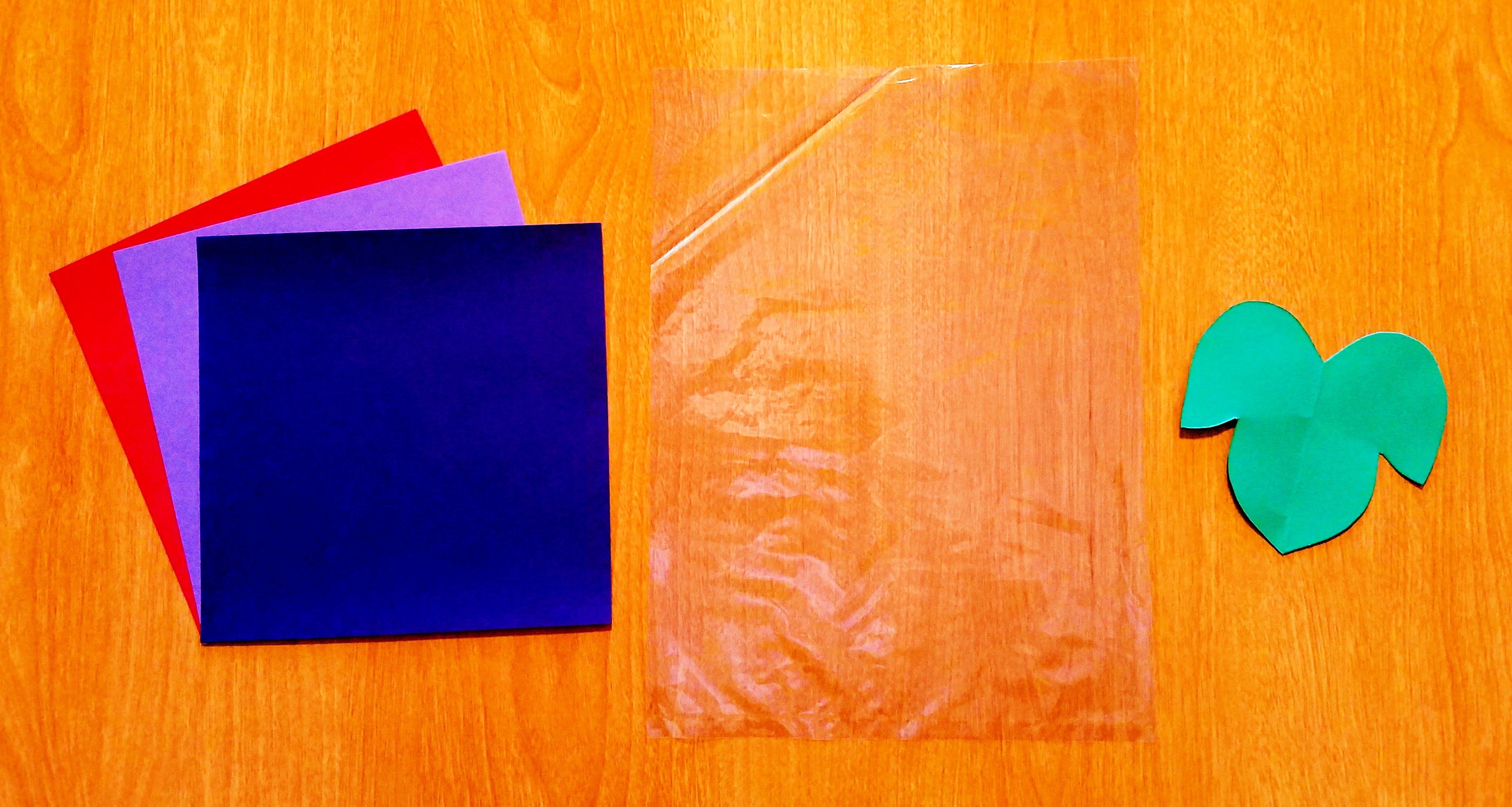 10月製作折り紙で作るぶどう